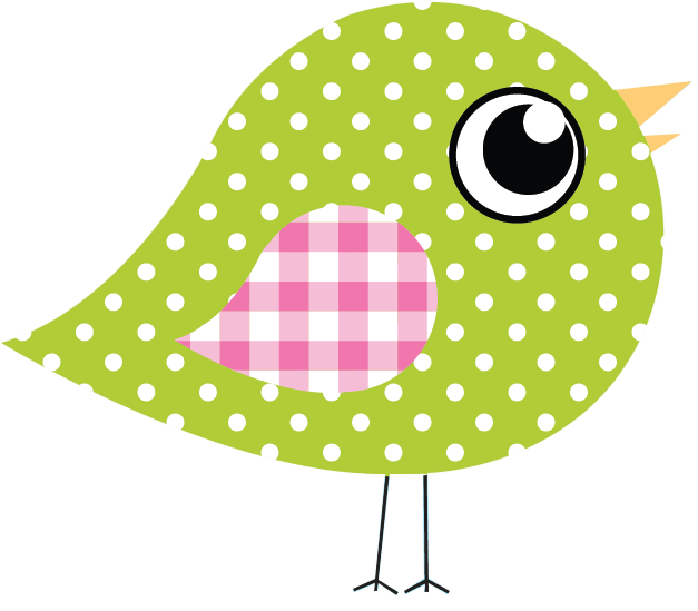 Dotty Birds big green