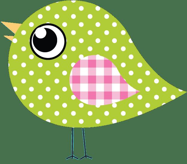 Dotty Birds green