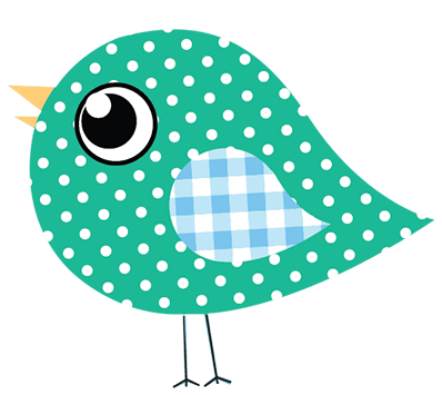 Dotty Birds littlegreen